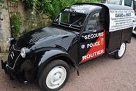 Citroën 1954 2 CV de police