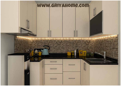 Desain kitchen set minimalis Kedua
