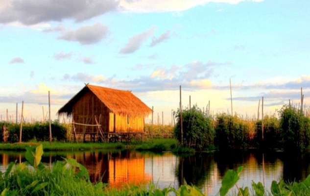 A Little House on Inle Lake
