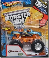 Hot wheels monster jam obsessed 2013