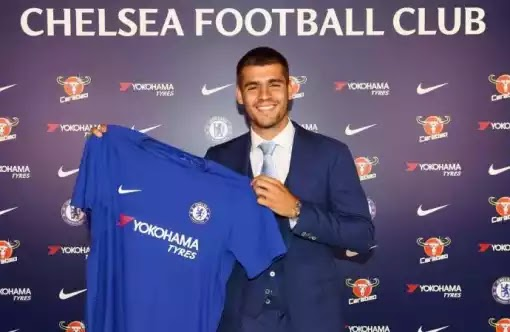 Chelsea complete signing of Morata from Real Madrid