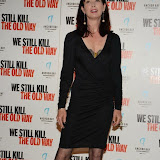 WWW.ENTSIMAGES.COM -   Lysette Anthony   arriving at      We Still Kill The Old Way - private film screening at The Ham Yard Hotel, London September 29th 2014Private screening of forthcoming film about a group of former 1960s gangesters who come out of retirment to take on a group of youths after one of their number is murdered.                                                 Photo Mobis Photos/OIC 0203 174 1069