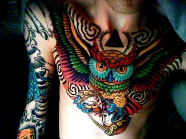 colorido_da_tatuagem_de_coruja