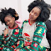 Muyiwa Ademola's Wife And Daughter In Matching Outfit For Christmas
