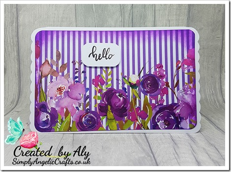 2018-06-15 made using Making Cards magazine July papers and Everyday Sentiments stamp