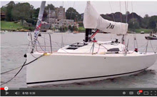 J/88 sailing video overview