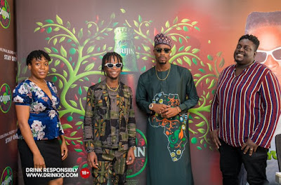 Laycon And Neo Officially Signed As Brand Ambassadors Of ORIGIN (Photos)