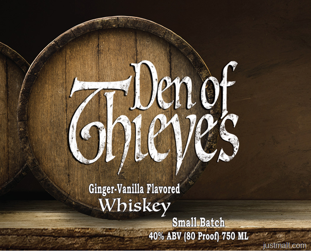 Den Of Thieves Ginger-Vanilla Flavored Whiskey