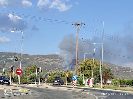 Πυρκαγιά τώρα στα ΧΥΤΑ Μεσολογγίου - Κινητοποιούνται επίγειες και εναέριες δυνάμεις