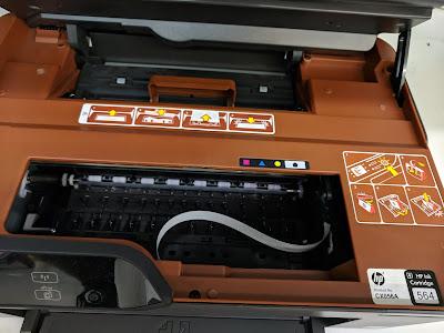 Impresora HP que usa cartuchos 920