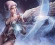 White Bird And Elven Angel