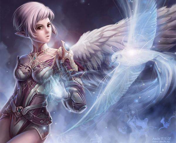 White Bird And Elven Angel, Elven Girls 2