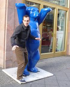 "in German it's ""blau bär"""