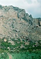 Гора Демерджи - склон