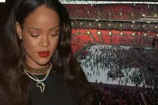 Rihanna's Wembley Concert Fails As London Arena Appears Half Empty