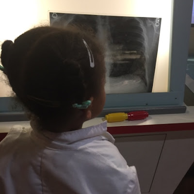 X-ray station at the Children's Museum at the Fort Worth Museum of Science and HIstory