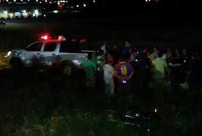 Acidente de trânsito próximo o Arco da Santa, em Acopiara