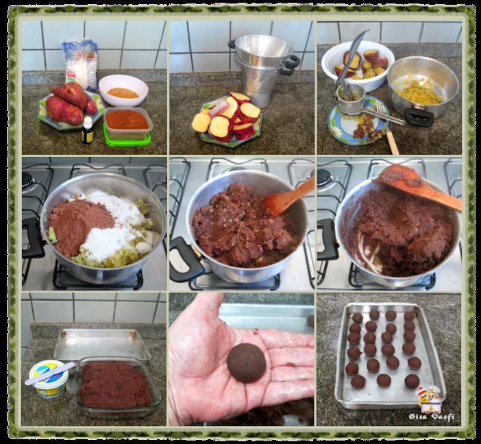 Docinho caramelado de paçoca 3