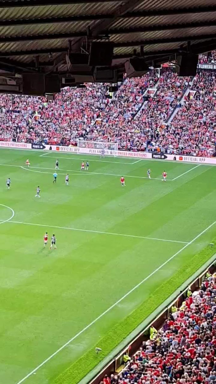 Watched Ronaldo's first game back at Old Trafford.
