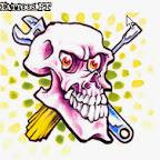 spanner - Skull Tattoos Designs