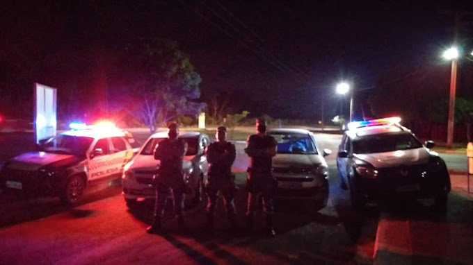 7º BPM recupera dois veículos roubados na Comunidade Campo Limpo em Acorizal-MT.