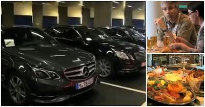 Eurodeputados vivem com mordomias, ordenados e regalias de luxo