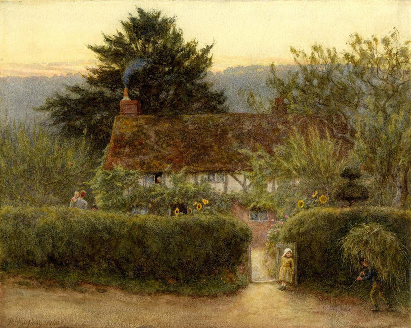 Helen Allingham - Cottage