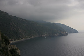 Seaside view from Corniglia