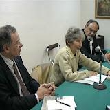 """Presentación en el Club Internacional de Prensa de """"Africa  versus America"""" - Madrid, 2003"""