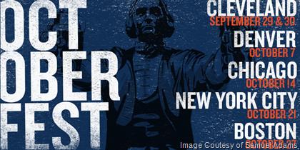 Samuel Adams Announces OctoberFest Celebrations
