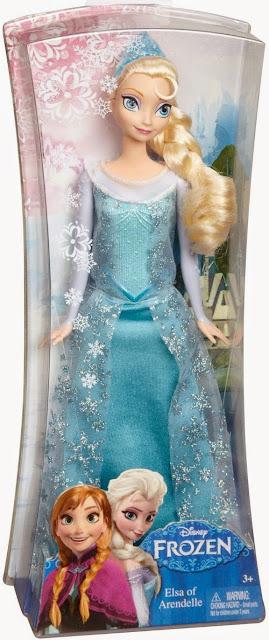Sản phẩm Búp bê Nữ hoàng Băng giá Elsa Mattel Y9959
