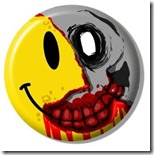 botld-02 - Happy Zombie button-8x6