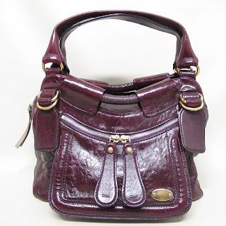 Chloé Burgundy Bag