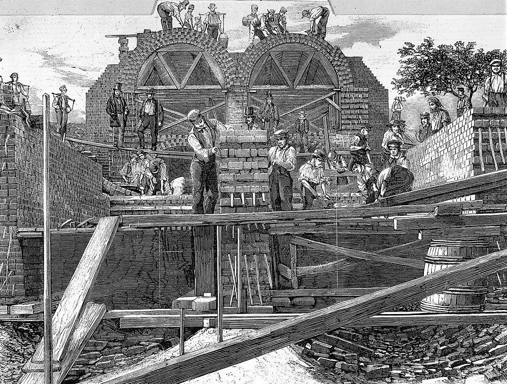 bazalgette-sewer-construction-2