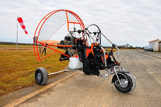 Photo: Puissance avec moteur Rotax 503 : 46,5 hp à 6500 tr/ mm