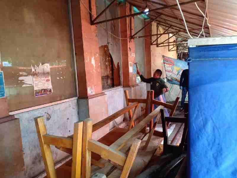 Pasar Rau Dihebohkan Dengan Penemuan Mayat, Polres Serang Kota Langsung Olah TKP