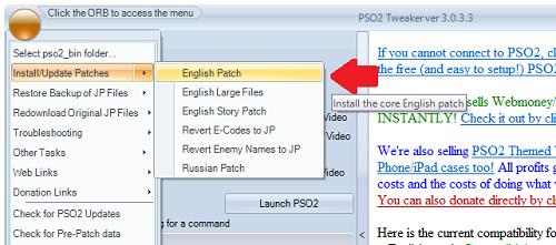 Traduzir update em ingles
