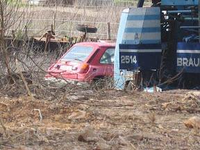 Abandoned Renault 5 Turbo