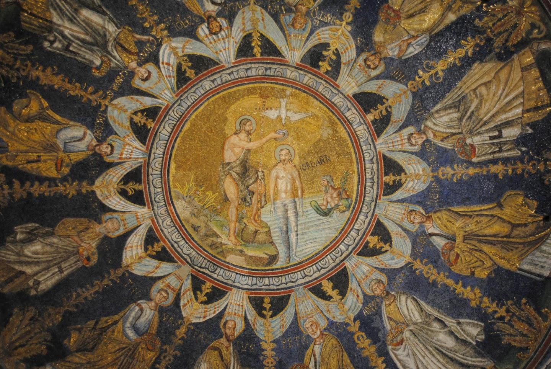 My Photos: Italy -- Mosaics -- Ravenna -- Neonian Baptistry