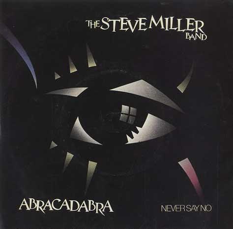 Portada del Abracadabra de la Steve Miller Band
