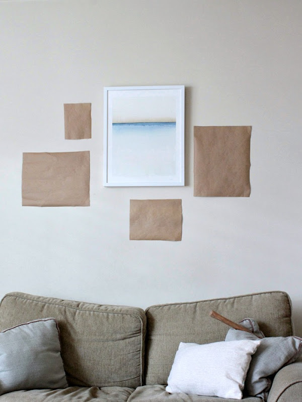 Minted Gallery How to Hang a gallery wall