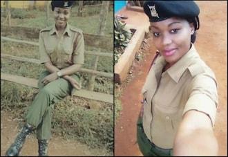 Photos:Meet kenyas Most beautiful AP officer