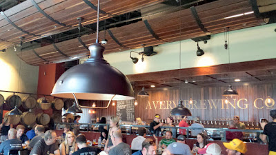 Avery Brewing Restaurant upstairs
