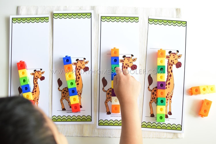 HOW TALL IS THE GIRAFFE? A MEASURING ACTIVITY