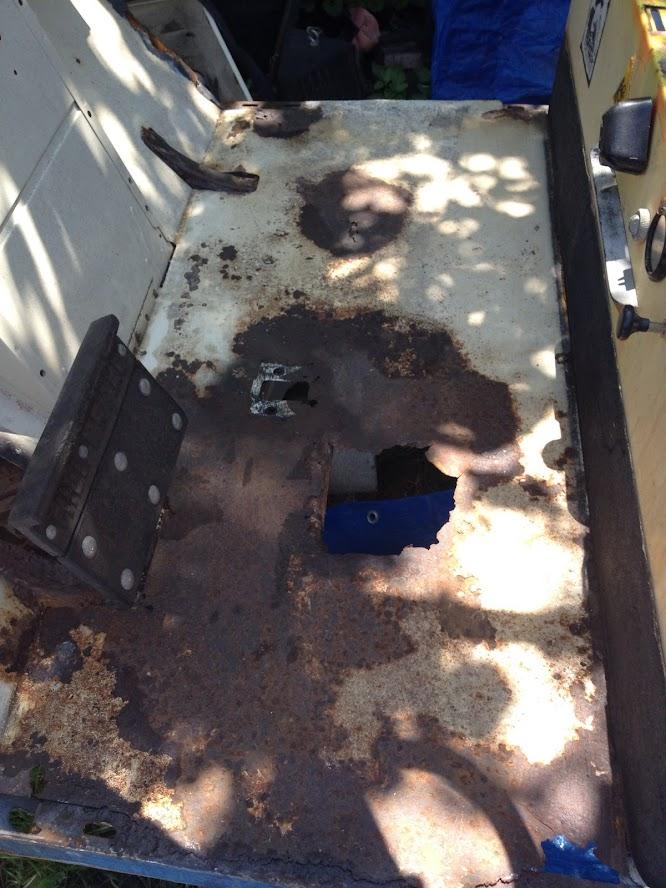 floorboard before refabrication