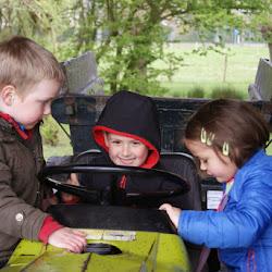 Naar de kinderboerderij