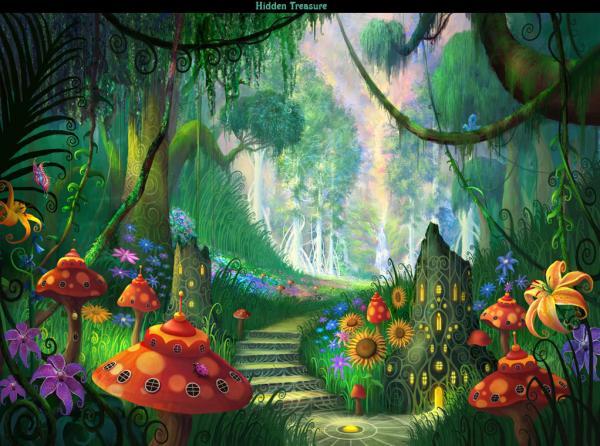 Hidden Treasure, Magical Landscapes 5