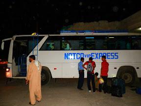 NATCO bus stop, Rawalpindi