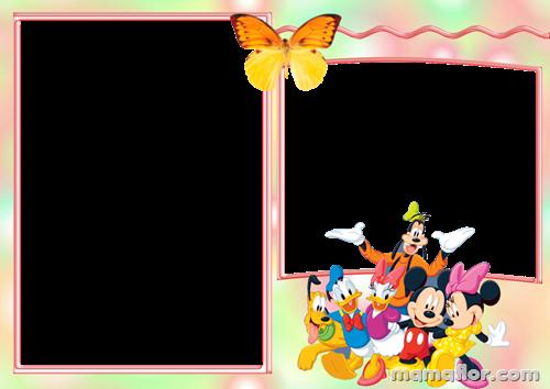 Marco de Fotos de Mickey Mouse y sus amigos
