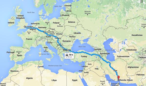 To Iran